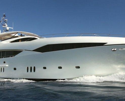 Luxury Yacht Finishing & Custom Paint Work Hampshire