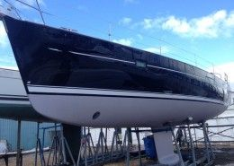 boat restoration on the Solent