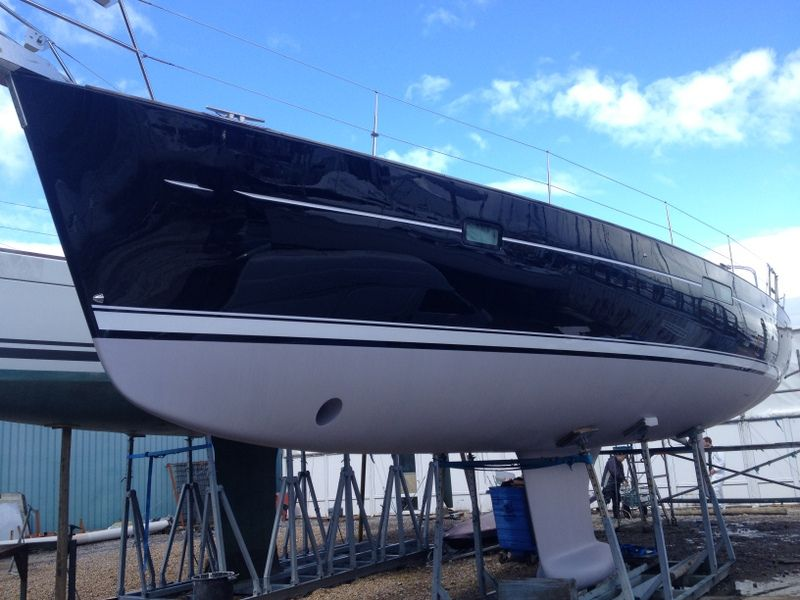 boat restoration on the Solent