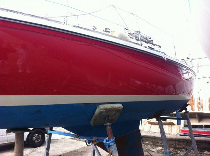 Fibreglass Yacht Repairs In Solent, Hampshire