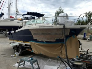 Approved yacht insurance repairs